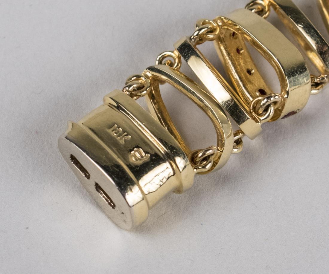 Henry Dunay Gold Bracelet   * - 3