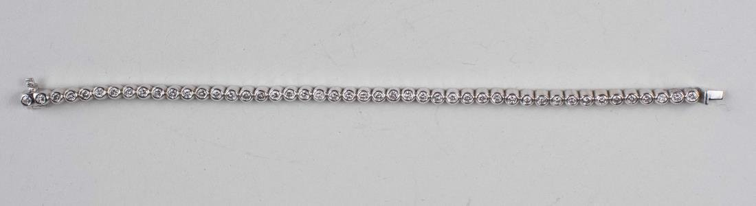 Diamond Straight Line Bracelet   *