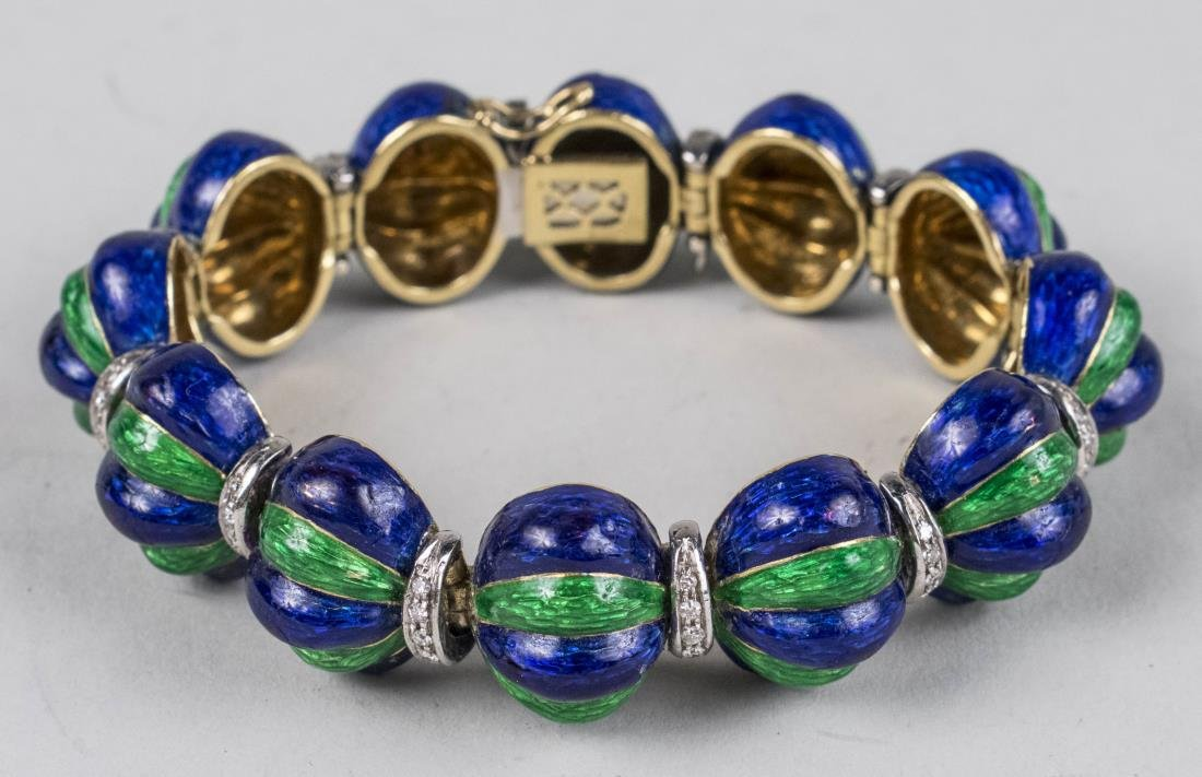 Enamel Bracelet   *
