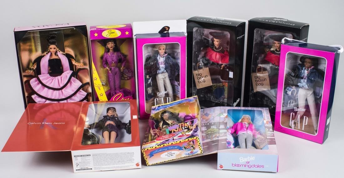 Group of Vintage Barbie Dolls