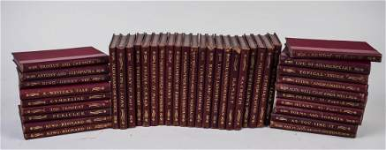 Leatherbound Works of Shakespeare