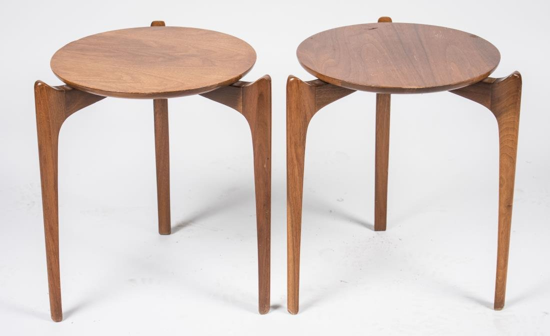 Pair of Mid Century Stacking Tables