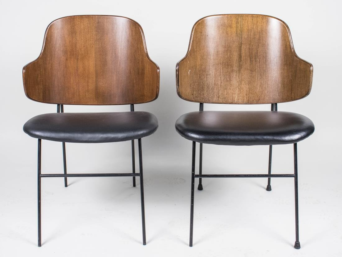 Pair of Ib Kofod-Larsen Penguin Chairs