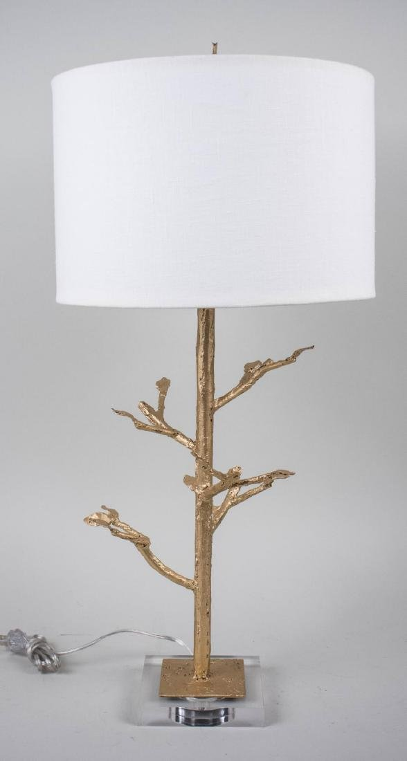 Modern Tree Form Lamp