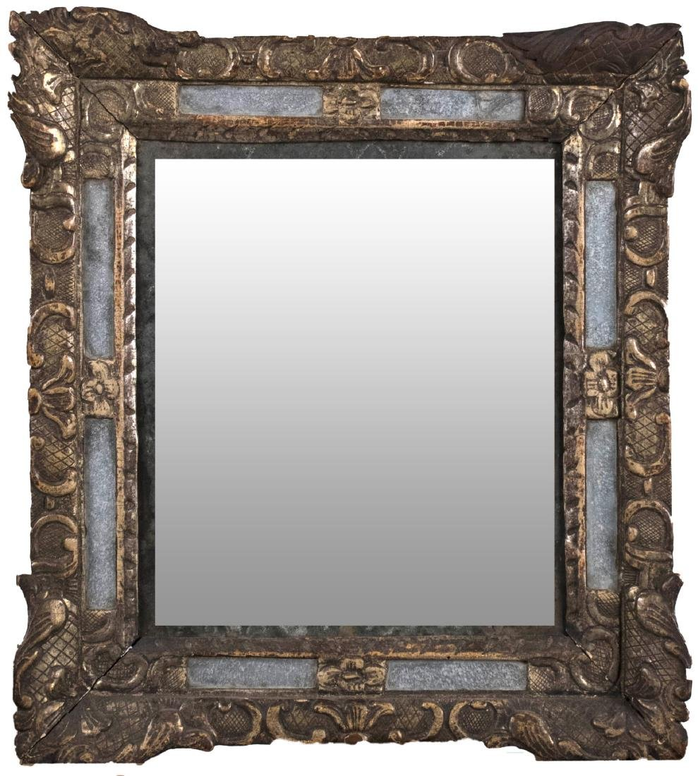 Mirror Framed Gilt Wood Mirror