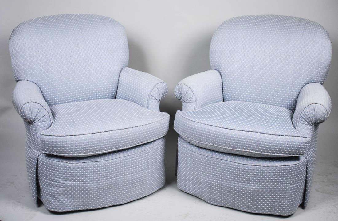 Pair of Century Club Chairs