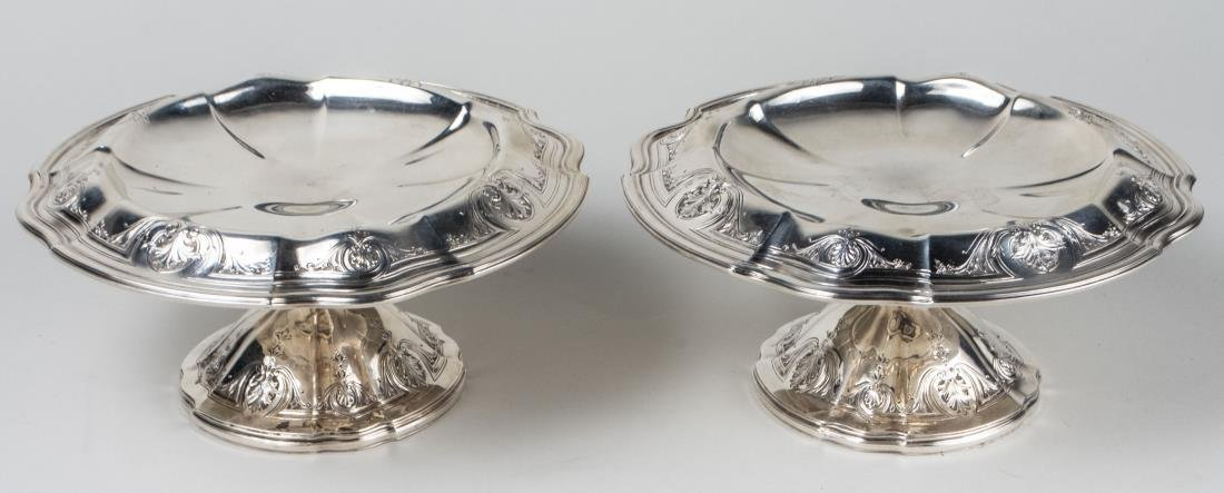 Black Starr & Frost Sterling Silver Compotes   * - 2