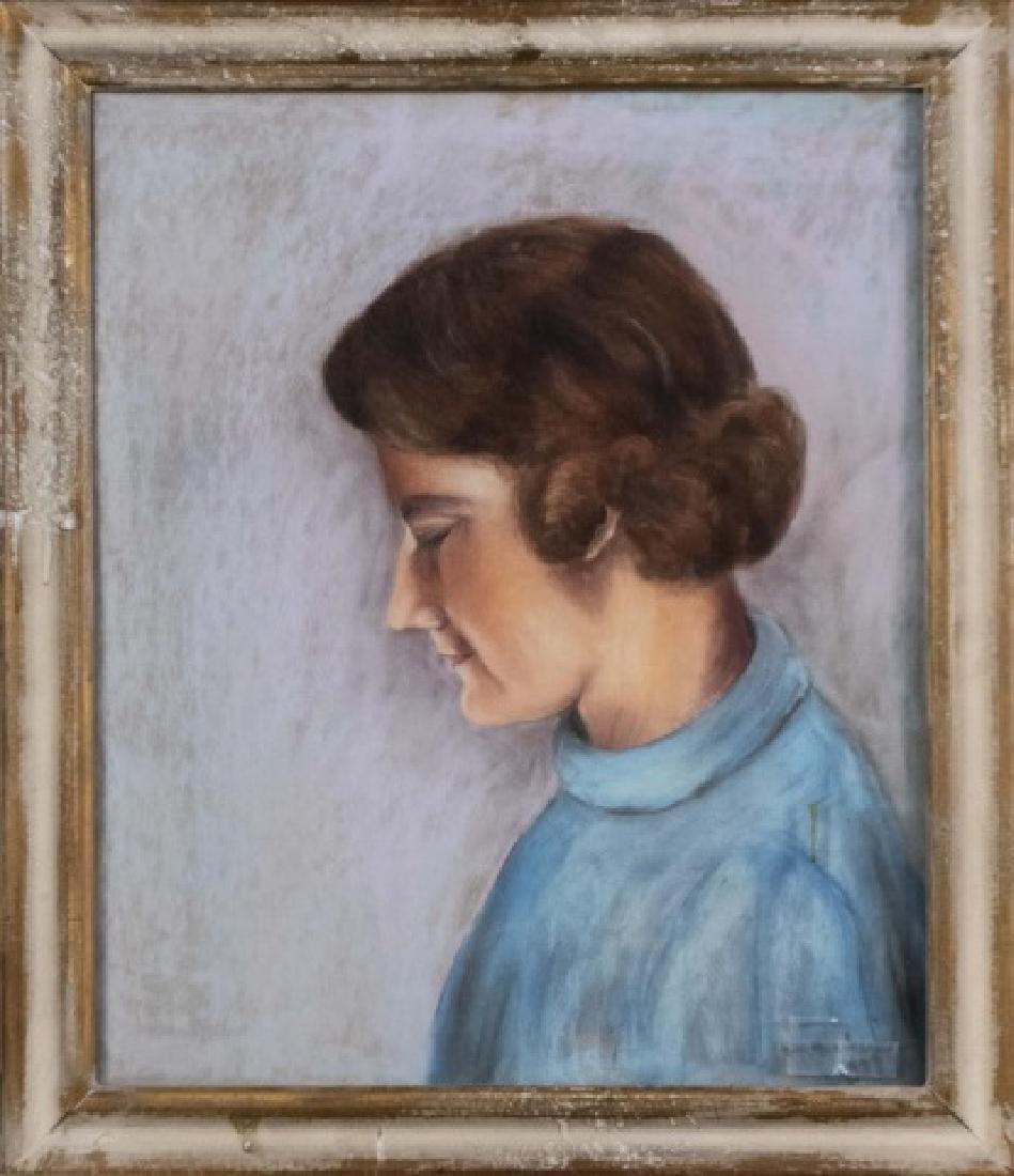 A. M. Barban (Active Circa 1930) Two Portraits - 2