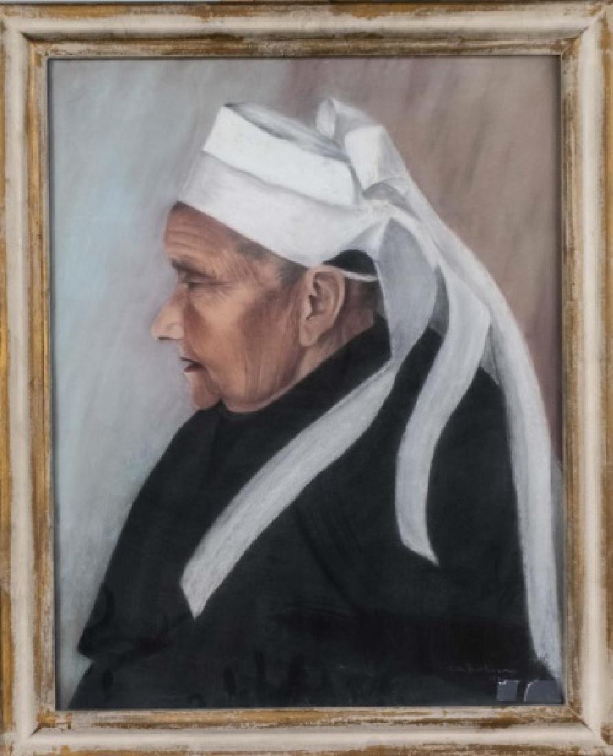 A. M. Barban (Active Circa 1930) Two Portraits - 4