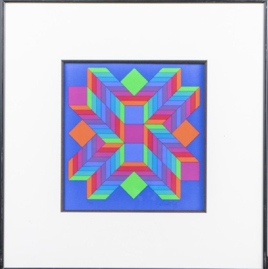 Victor Vasarely  (French/Hungarian, 1906-1997) - 4