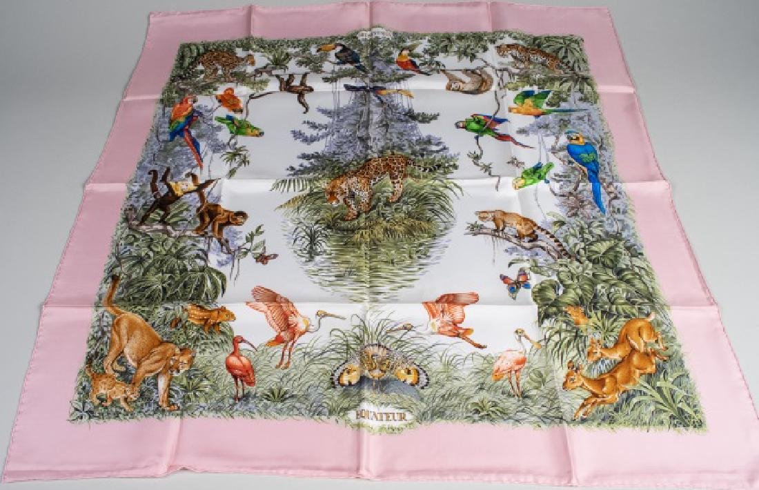Hermes Equateur Silk Scarf