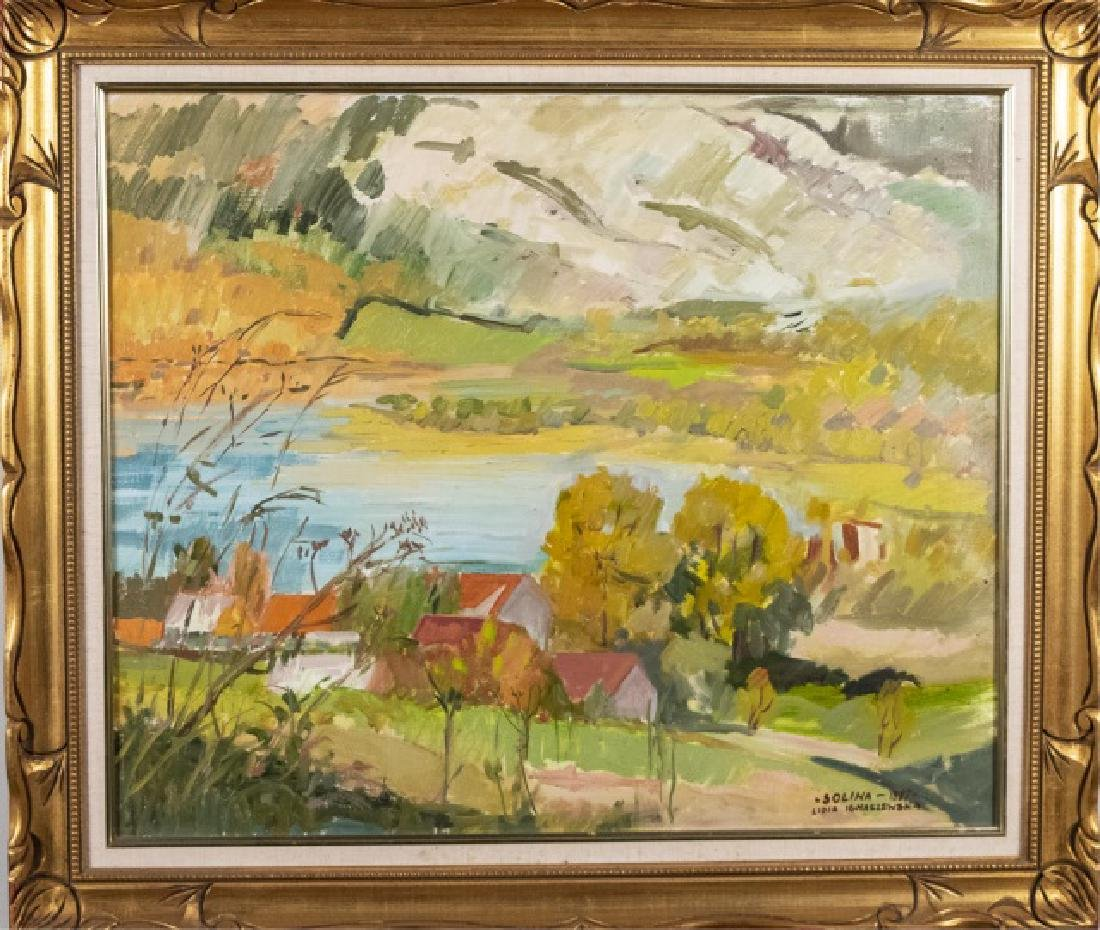 Two Polish School Landscapes (20th Century) - 2