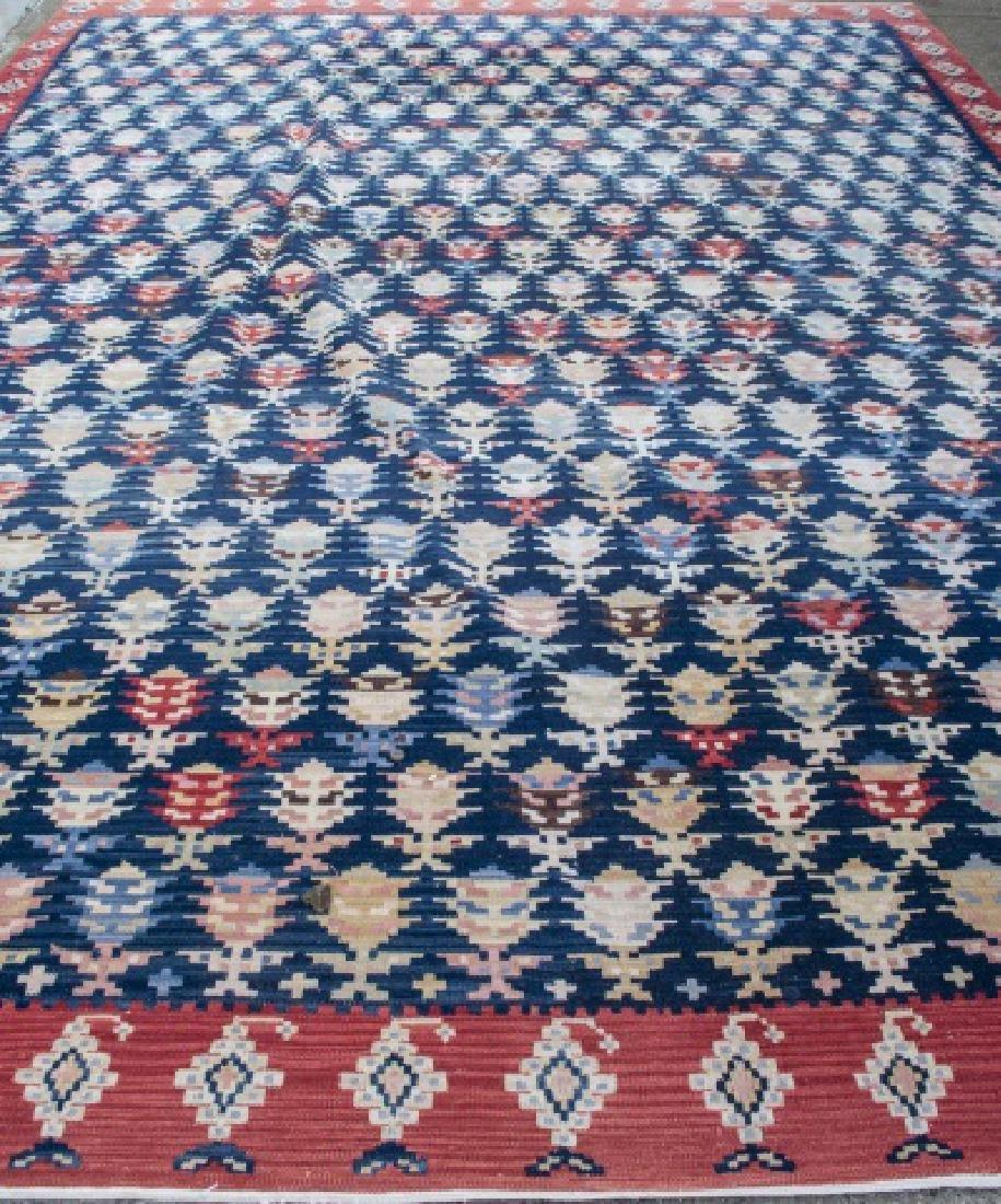 Contemporary Turkish Kilim Carpet