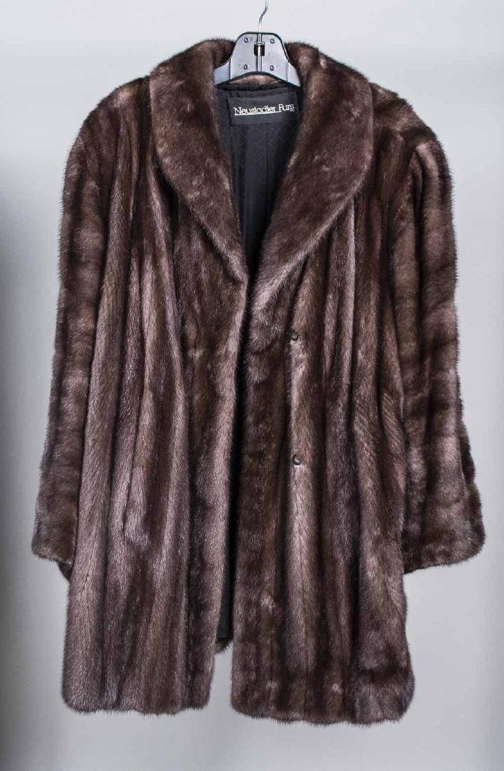 Ladys Mink Coat