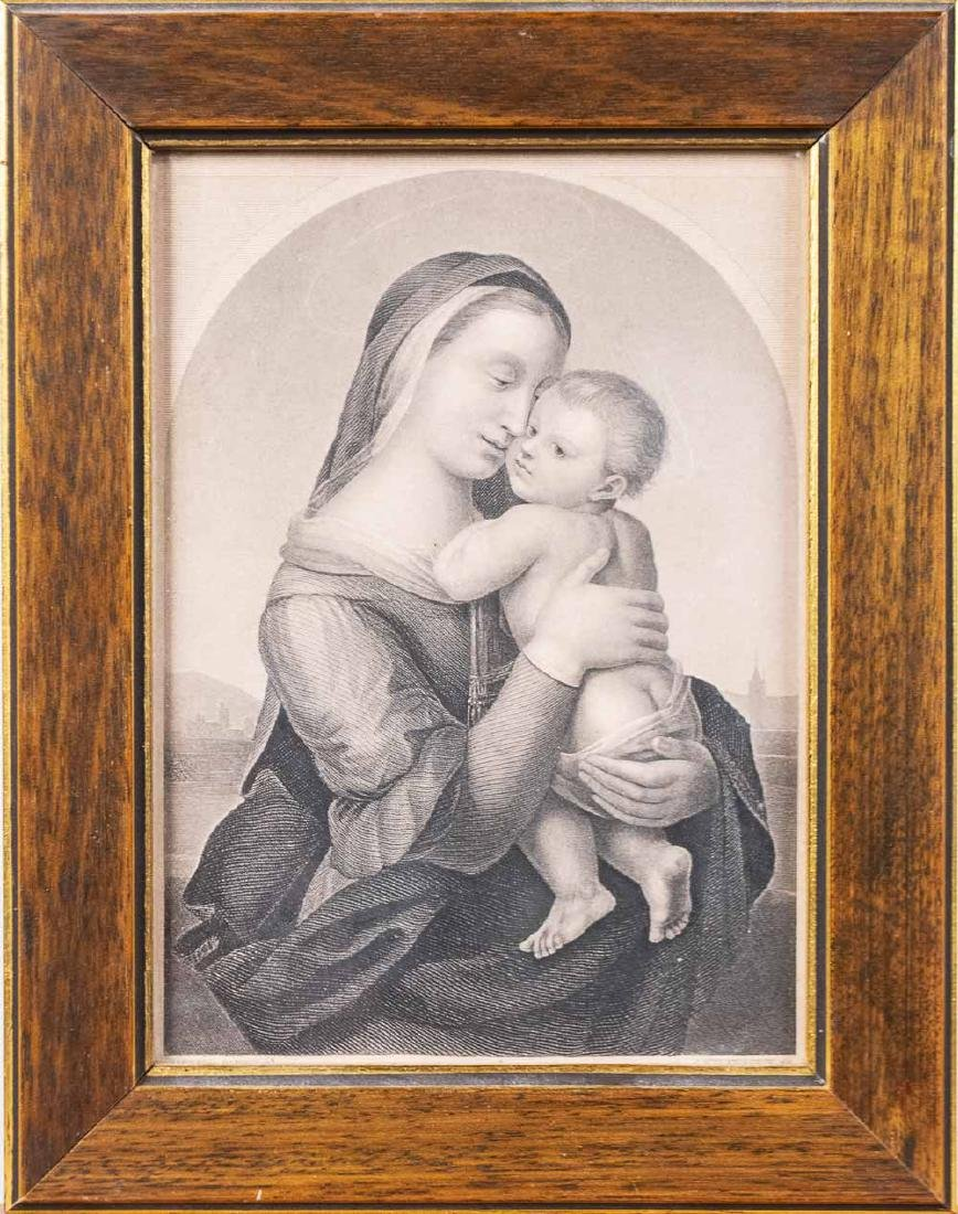 Madonna and Child Print