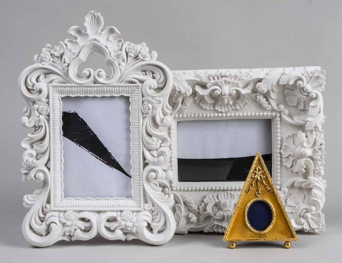 Three Decorative Picture Frames