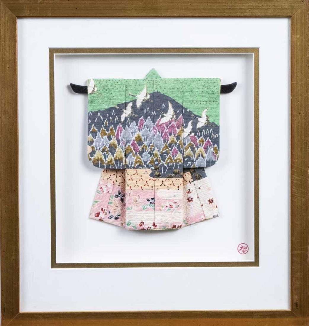 Three Rosella Harrison Peck Miniature Kimonos - 2