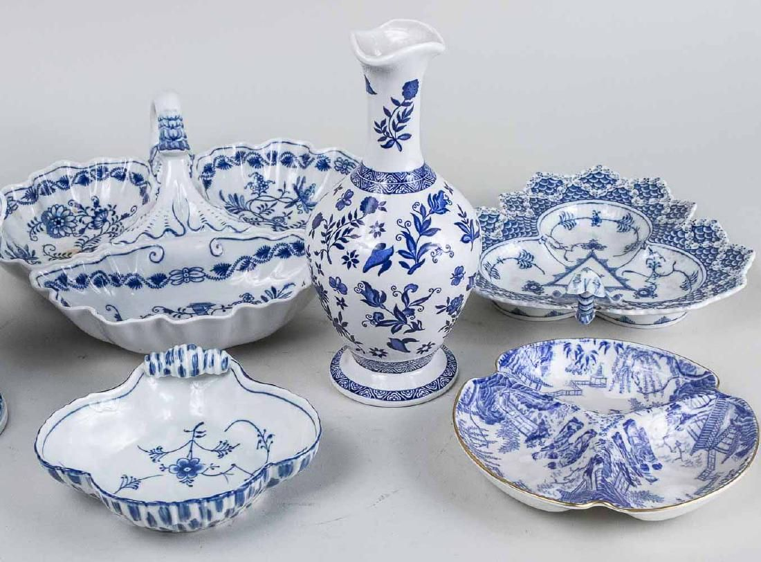 Blue and White Porcelain Table Articles