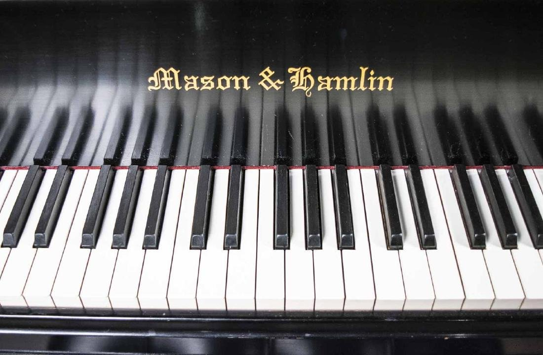 Mason and Hamlin Model A Grand Piano - 3