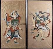 Pair of Korean Paintings