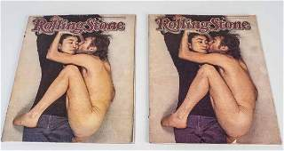 Two Rolling Stone Magazines
