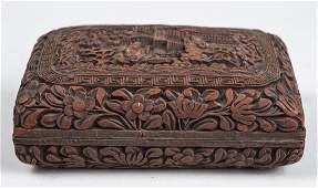 Chinese Cinnebar Box   *