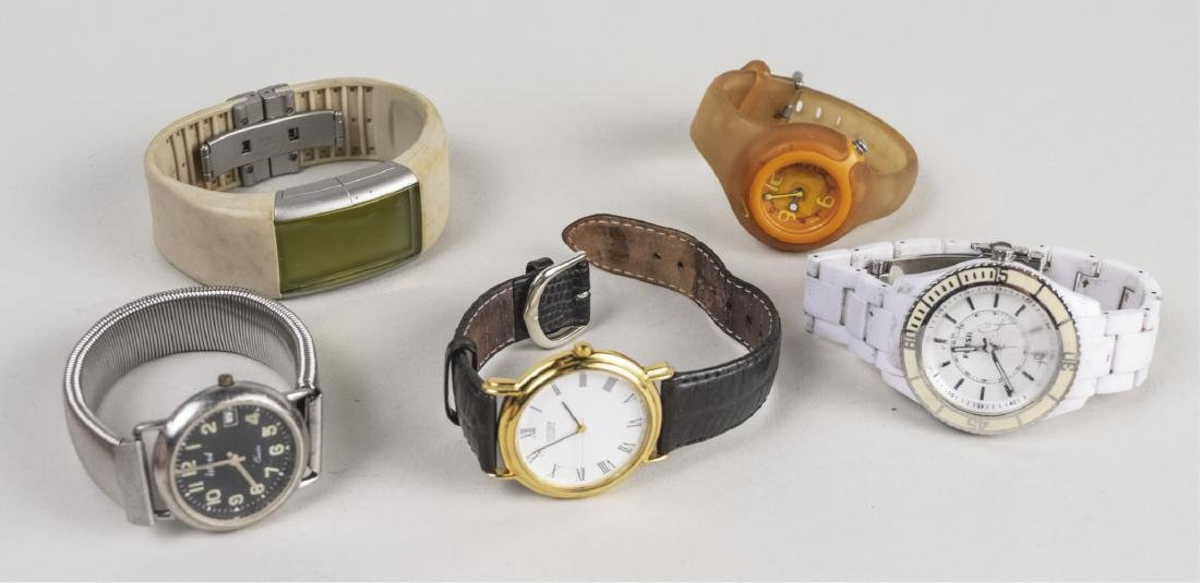 Group of Five Vintage Wristwatches