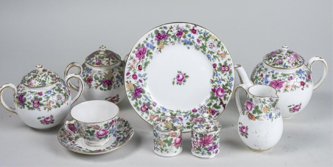 Crown Staffordshire Porcelain Service