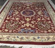 Chinese Carved Carpet