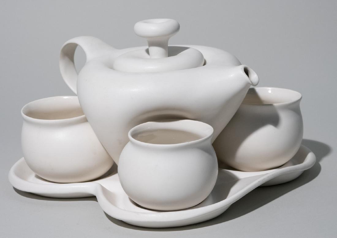 Pottery Tea Set