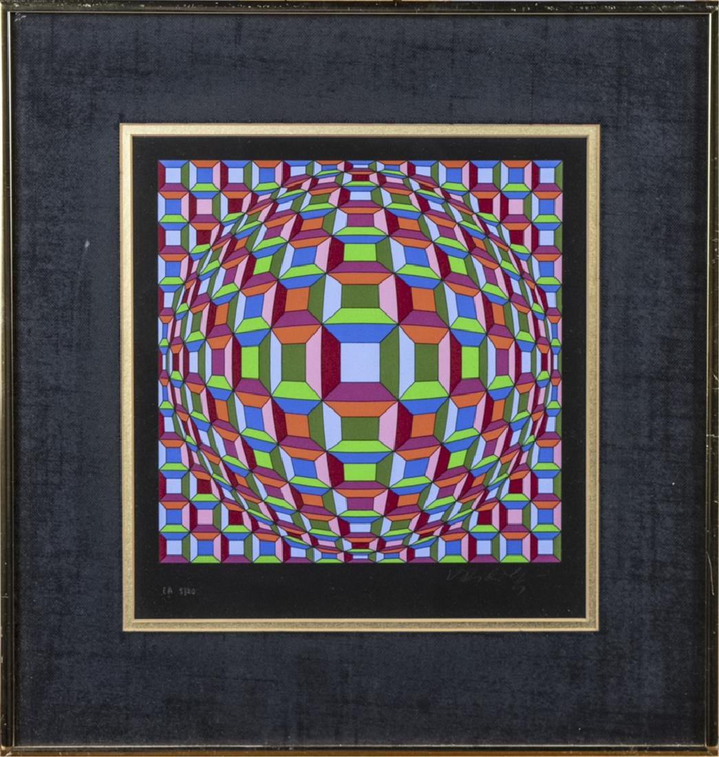Victor Vasarely (Hungarian/French, 1906 - 1997)