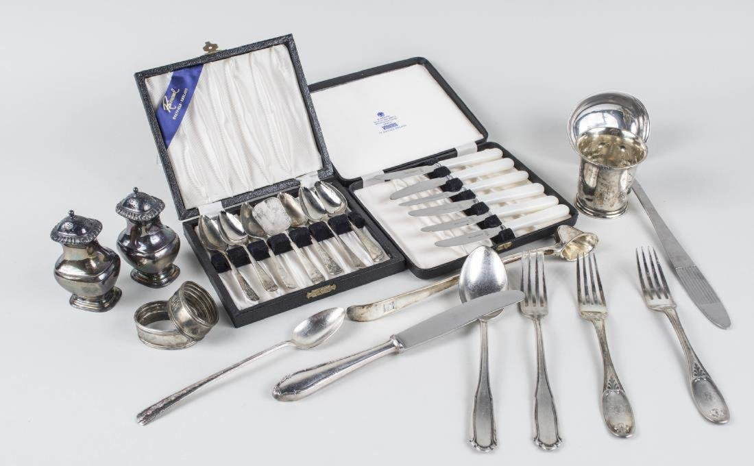Group of Silver Plated Flatware