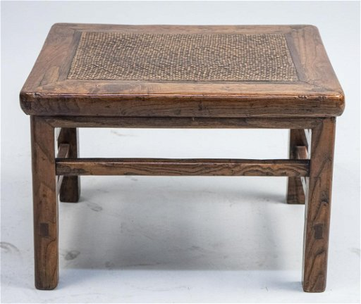 Enjoyable Asian Straw Top Footstool Aug 12 2019 Capo Auction In Ny Gamerscity Chair Design For Home Gamerscityorg