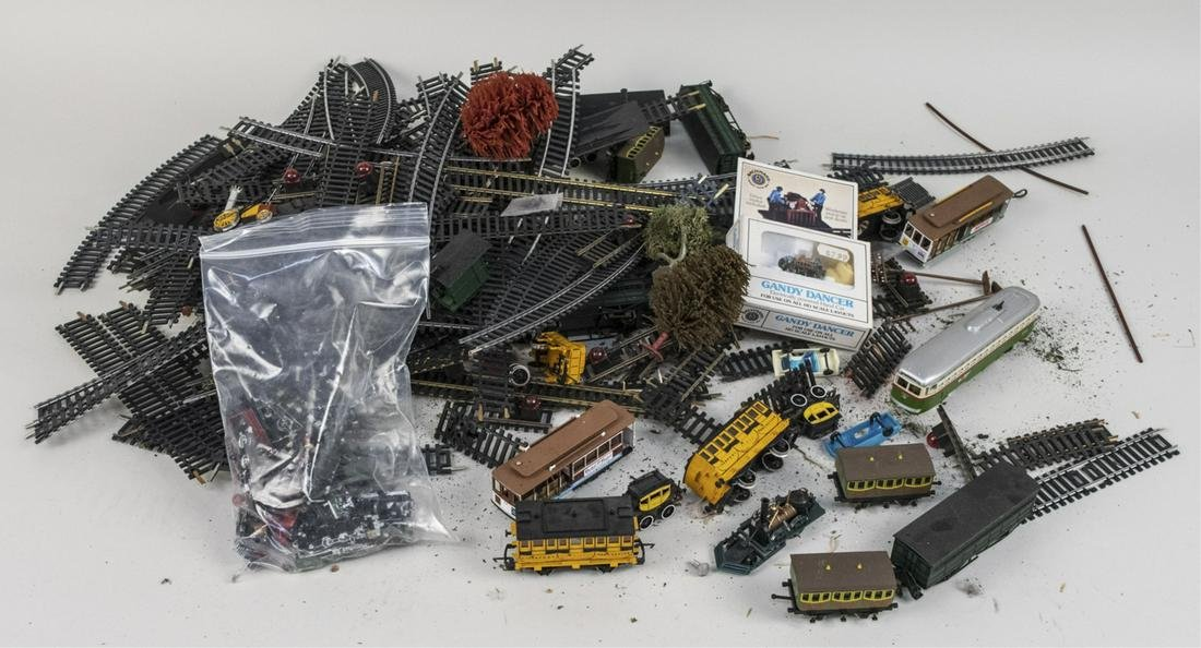 Miscellaneous Group of HO Scale Model Train Parts