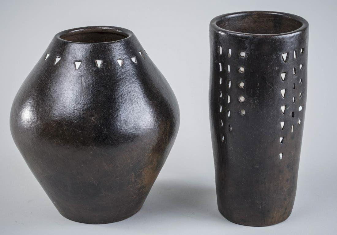 Two Art Pottery Vessels