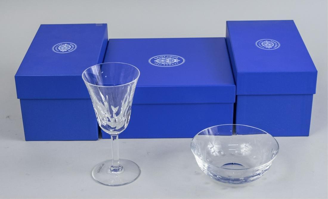 St. Louis Three Crystal Glassware