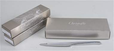 Christofle Lame Stainless Steel Flatware