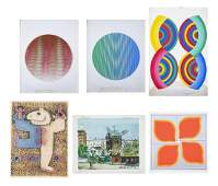 Group of Assorted Lithographs & Prints