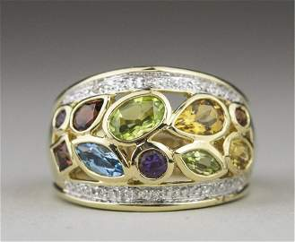 Gemstone Ring   *