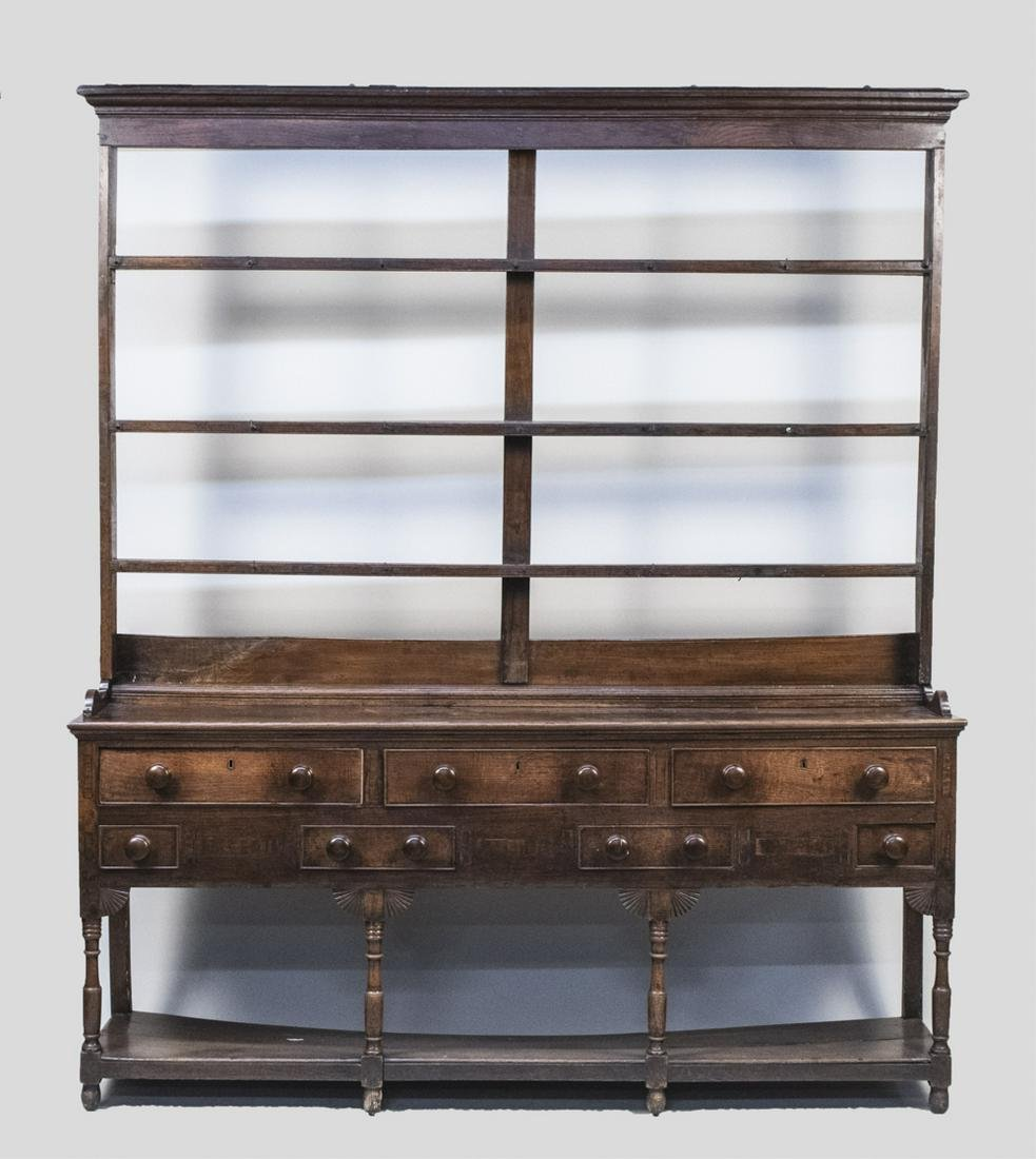 Oak Welch Dresser
