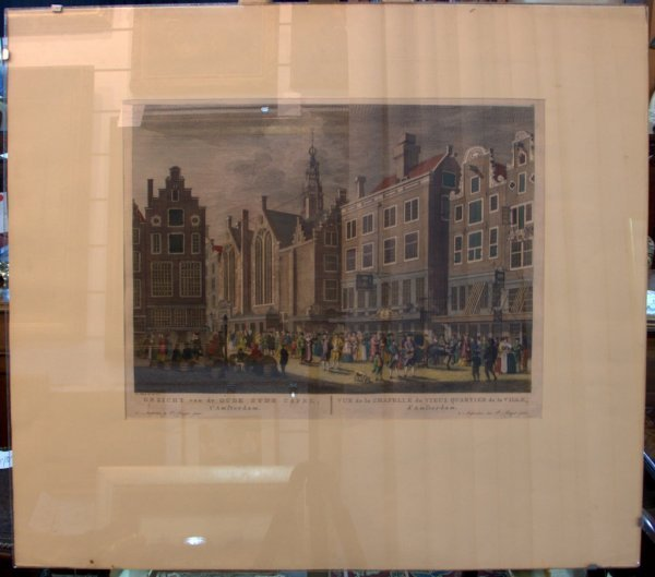 3: P Fouquet, Jr. Chapel in Old Quarter Amsterdam