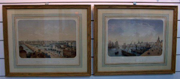 11: Pair French Lithographs After Chapuy
