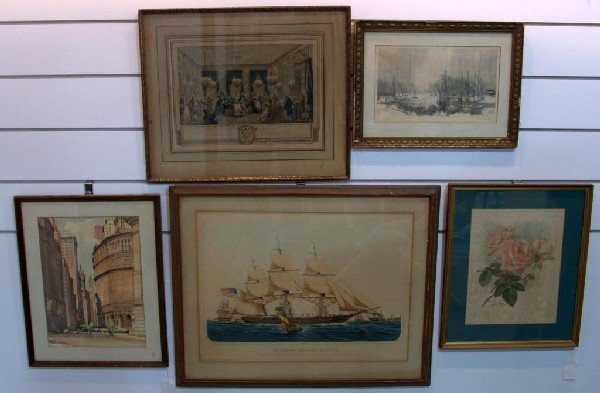 13: Group of Five Prints