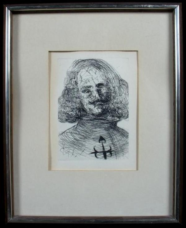 14: Salvador Dali (Sp. 1904-1989) Velazquez