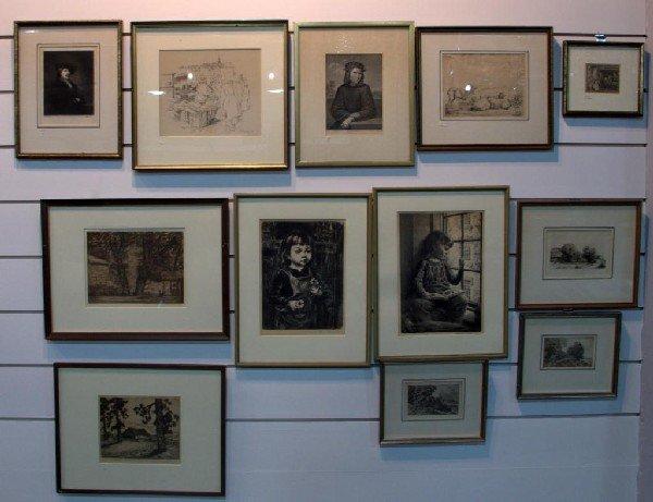 15: Miscellaneous Group of Twelve Prints