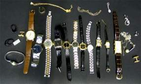 166 Miscellaneous Group of Vintage Wristwatches