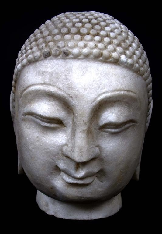 503: Marble Head of Buddha