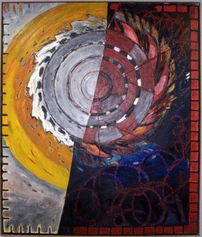 8: Katherine Porter (Am. b. 1941) Abstract