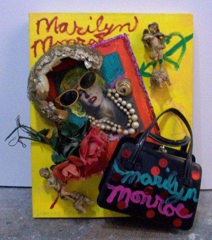 11: Simon Gad (Am Calif) Marilyn Monroe 1988 Mixed medi