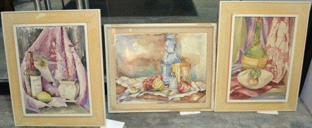 2: Three Still Life Paintings